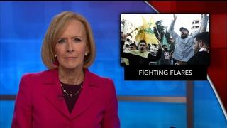 News Wrap: Fighting flares between Hezbollah and Israel