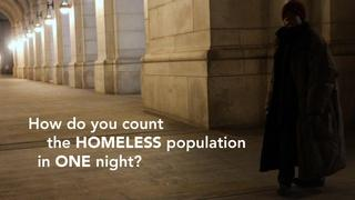 How do you count the homeless population in one night?