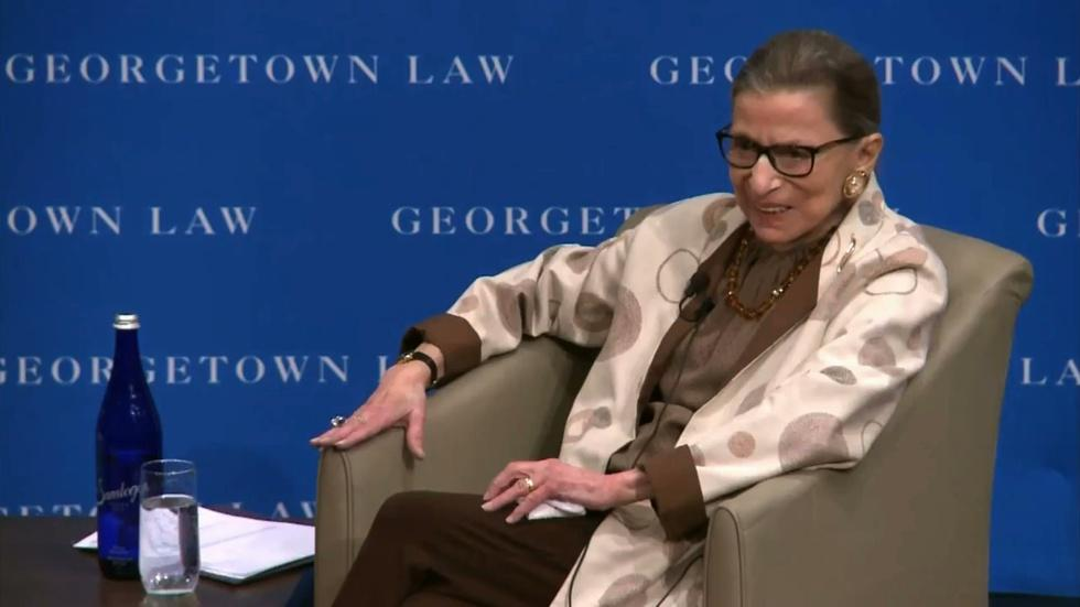 Justice Ginsburg on 'enough women' in the Supreme Court image