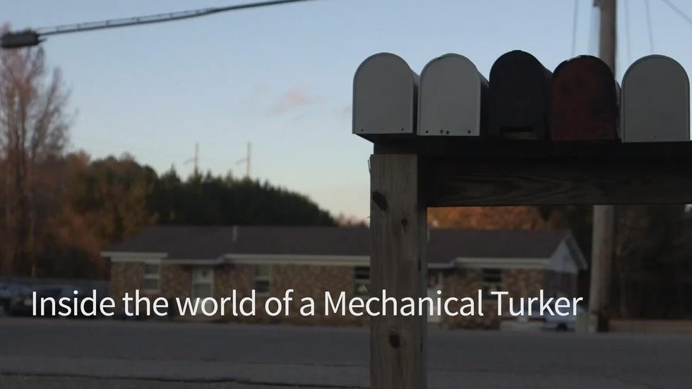 Inside the world of a Mechanical Turker image