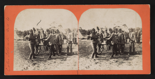 Collection of stereographs offers a new look at Civil War