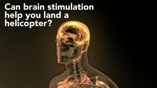 How brain stimulation helped Miles O'Brien land a helicopter