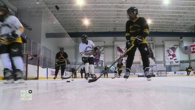 NHL stars pass the puck to inner city youth