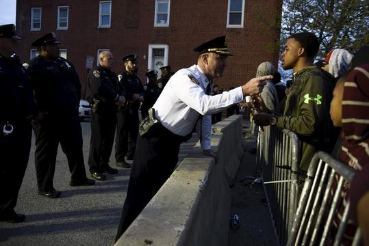 Are police responsible for the death of Freddie Gray?