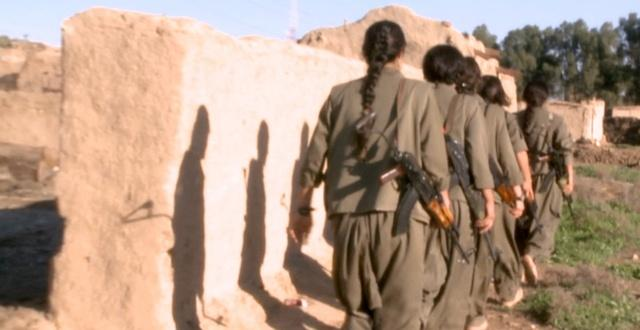 How women soldiers are confronting the fears of ISIS