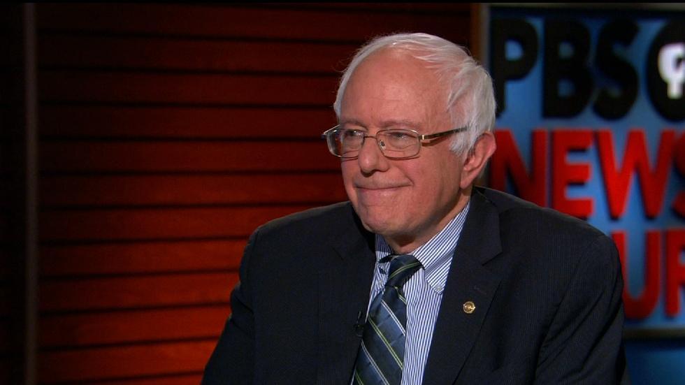 Sen. Bernie Sanders explains why he is running for president image