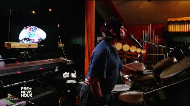 Grateful Dead's Mickey Hart plays the rhythm of the universe