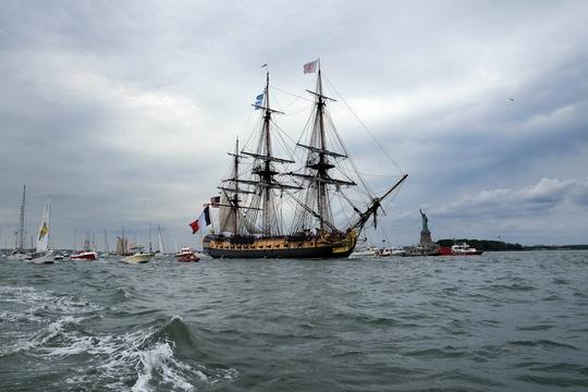 A ship that changed American history sails once more