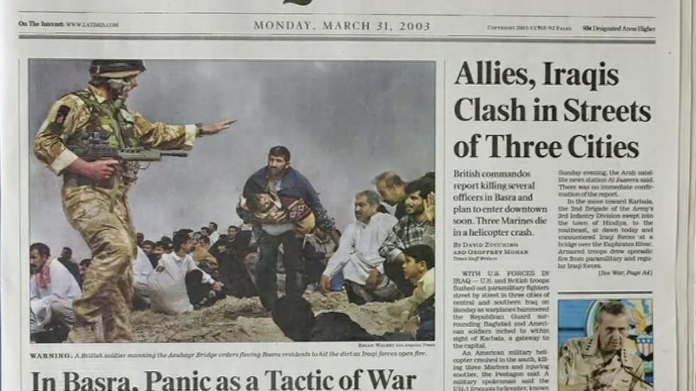 Exhibit chronicles manipulated news photos image
