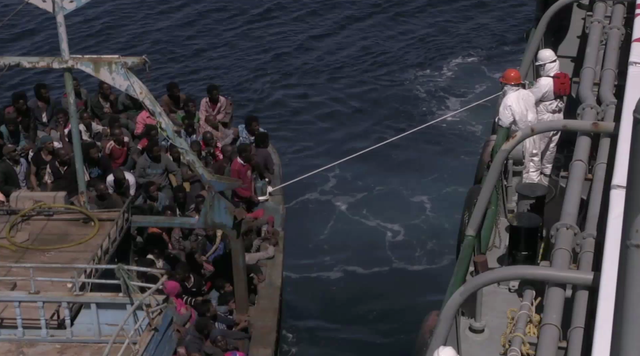 How Mediterranean fisherman are helping African migrants
