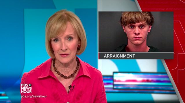 News Wrap: Charleston suspect enters not guilty plea for now