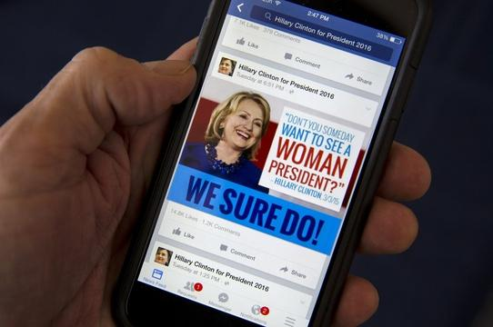 Are presidential candidates tracking your Facebook profile?