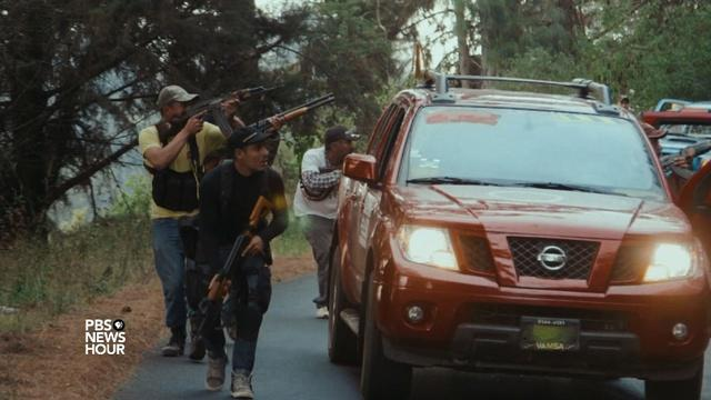 New documentary offers close-up view of violent cartels
