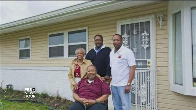 Wendell Pierce helps rebuild his New Orleans neighborhood
