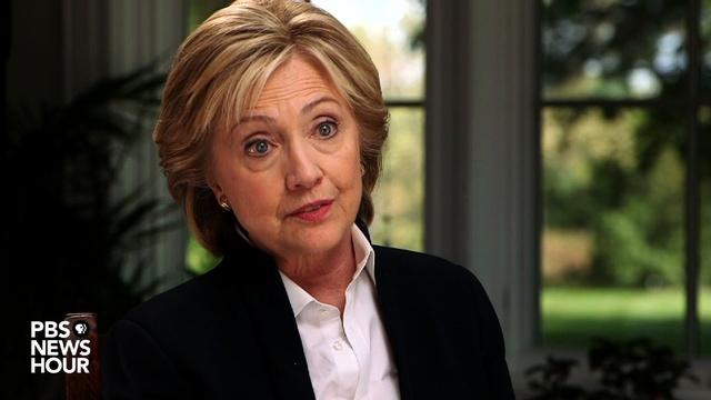 Full Interview: Hillary Clinton on trade pact doubts