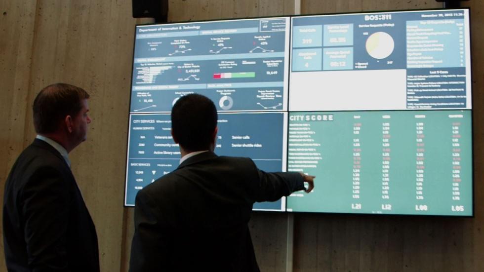In Boston, tracking data to score government progress image