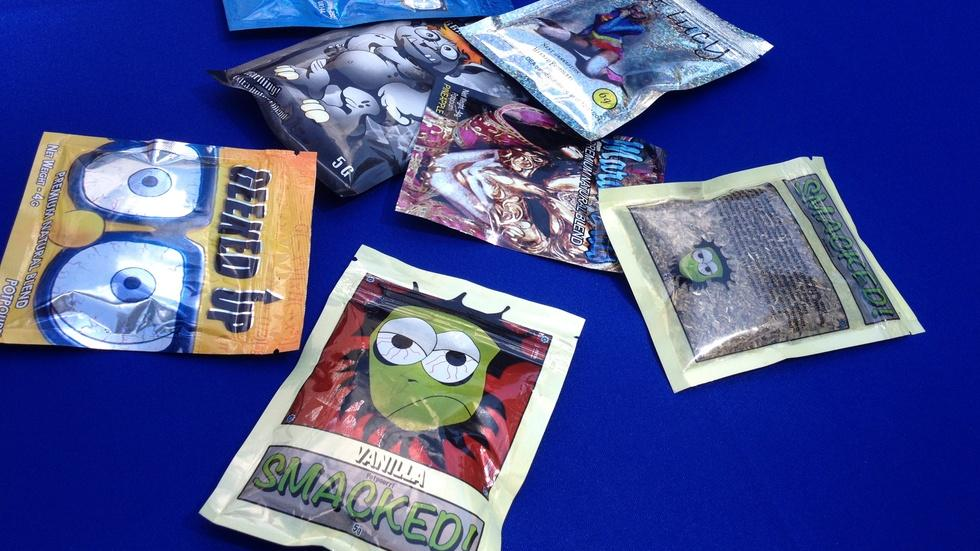 Synthetic drugs, an unknown grab-bag of toxic chemicals image