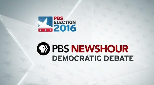 PBS NewsHour Democratic Presidential Debate