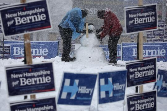 Democratic fight heats up as candidates dash across N.H.
