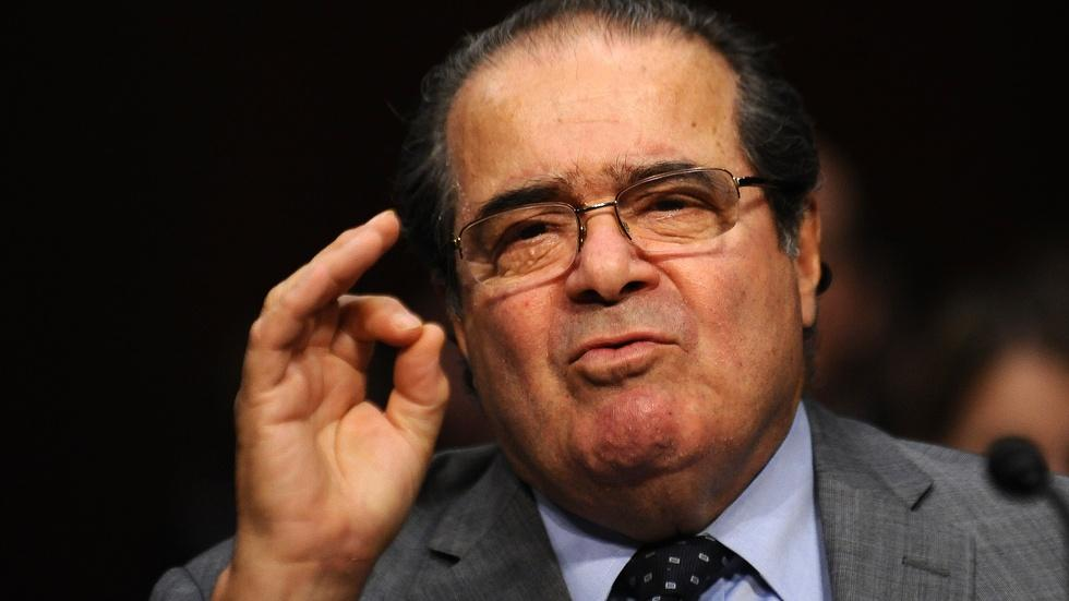 How Scalia made constitutional law exciting image