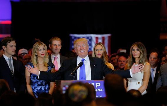 Trump routs final GOP rivals but some Republicans resist