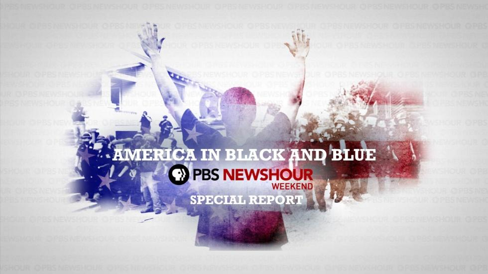 PBS NewsHour Special: America in Black and Blue image