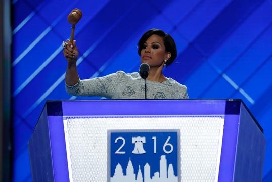 Baltimore mayor Stephanie Rawlings-Blake's call to order