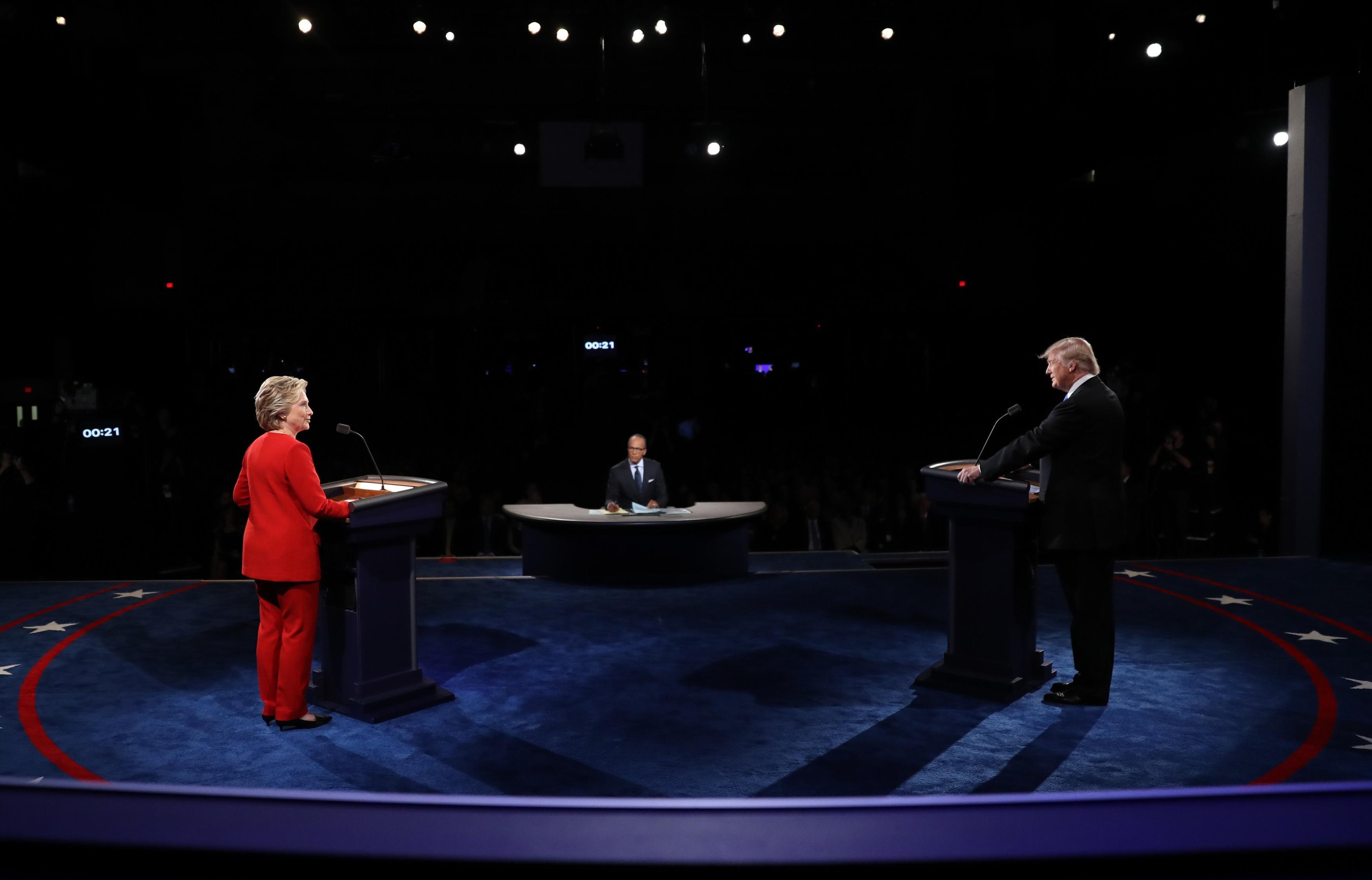 Watch the full first presidential debate