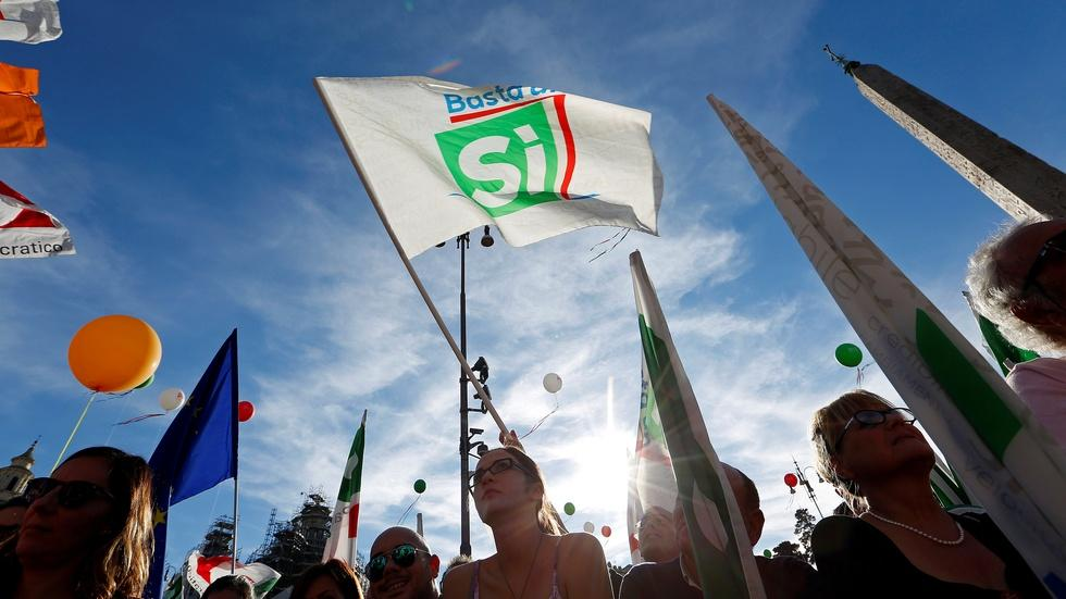 Italian vote could amend post-war constitution image