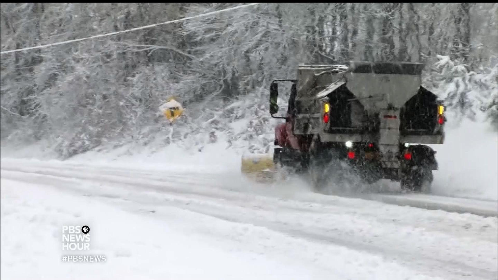 You can thank Ohio's tropical sea for your winter road salt