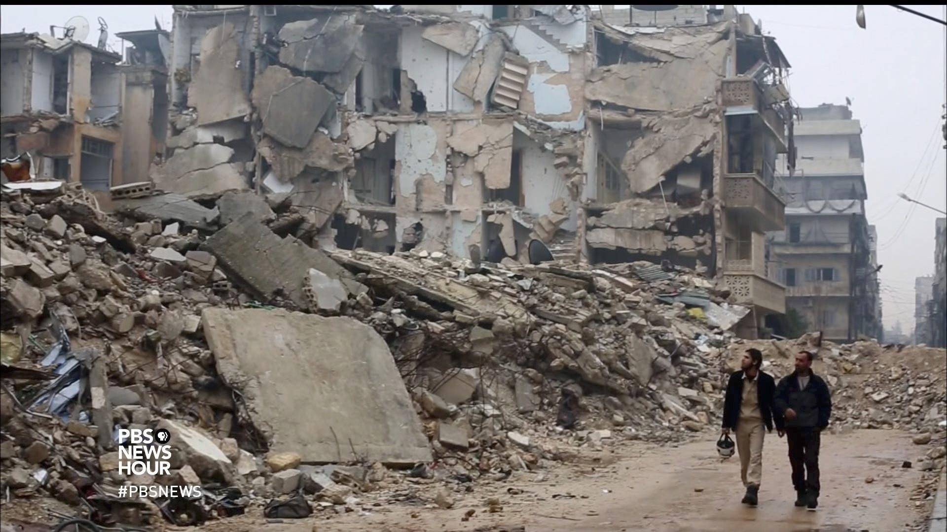 'The White Helmets' offer moments of hope amid devastation