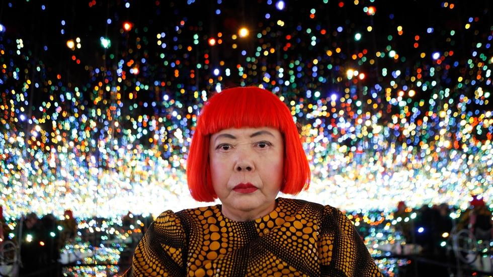 Need to escape reality? Step into infinity with Yayoi Kusama image