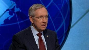 Harry Reid Confident of 'Substantial' U.S. Troop Drawdown...