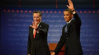 Romney and Obama Focus on Policy Details in First Debate