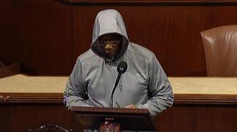 Rep. Rush Kicked Off House Floor for Wearing Hoodie