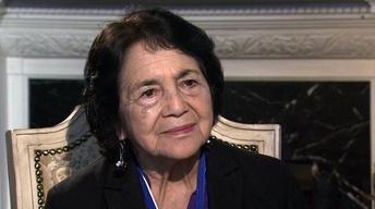 Dolores Huerta Calls Herself 'a Born-Again Feminist'