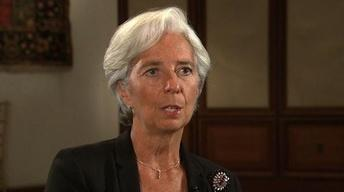 Lagarde on 'Worrisome' U.S. Debt Debate, Eurozone's Future