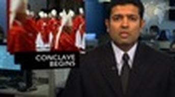 News Wrap: 115 Cardinals Start Papal Election Process