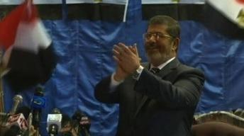 Egypt's President-elect Morsi Promotes 'Message of Peace'