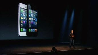 Apple Unveils iPhone5 Amid Competitive Smartphone Market