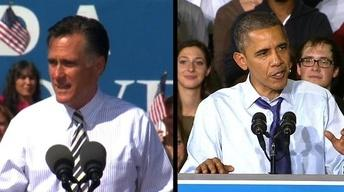 Romney and Obama Appeal to Female Voters in Swing States