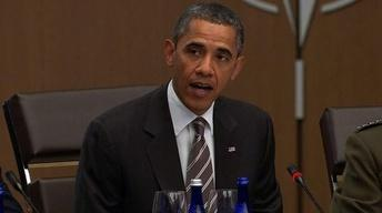 Obama Stresses Afghan Stability and Exit Plan at NATO Summit
