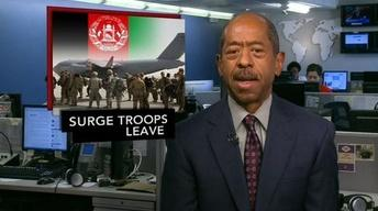 News Wrap: U.S. Surge Troops Withdrawn from Afghanistan