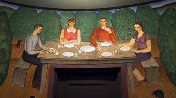 San Francisco's Famed Coit Tower Murals in Peril Due to...