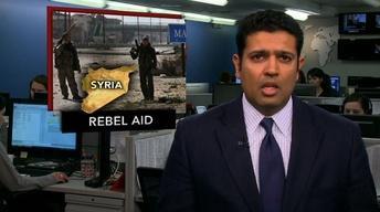 News Wrap: CIA Secretly Aiding Syrian Rebels