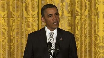 Obama Pushes Immigration Reform at White House Ceremony