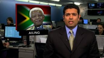News Wrap: Nelson Mandela Hospitalized With Lung Infection