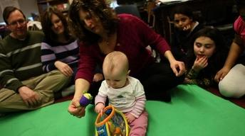 Tech-Savvy Toddlers Go for Tablets Over Teddy Bears