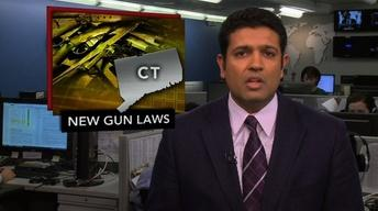 News Wrap: Connecticut Governor Approves New Gun Legislation