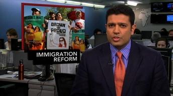 News Wrap: Senators Work on Immigration Reform Bill